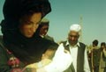 Jemima with a new born child born at Jalozai