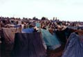 the sea of makeshift tents at Jalozai
